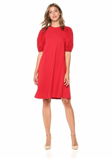 Velvet by Graham & Spencer Women's Siami Structured Cotton Dress  XS