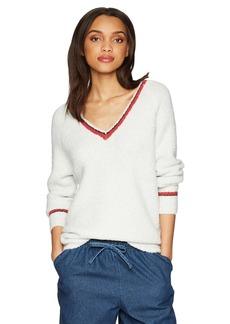 Velvet by Graham & Spencer Women's Simona Vneck Sweater ash XS