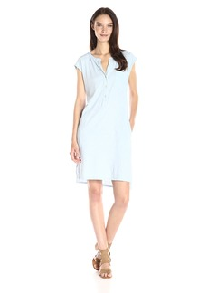 VELVET BY GRAHAM & SPENCER Women's Slub Henley Dress