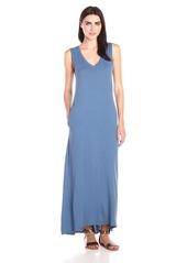 Velvet by Graham & Spencer Women's Slub V-Neck Maxi Dress