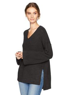 Velvet by Graham & Spencer Women's Stitch Detail Kimono Sleeve Sweater  S