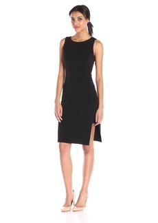 VELVET BY GRAHAM & SPENCER Women's Stretch Jersey Side Slit Dress