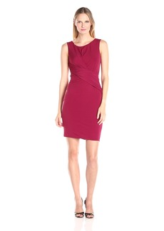 Velvet by Graham & Spencer Women's Stretch Jersey Twist Waist Dress  XS
