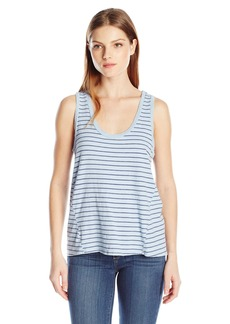 VELVET BY GRAHAM & SPENCER Women's Stripe Cotton Tank