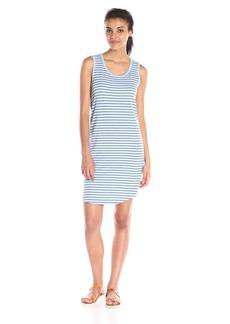 VELVET BY GRAHAM & SPENCER Women's Stripe Cotton Tank Dress