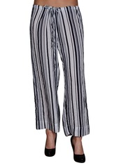 Velvet by Graham & Spencer Women's Stripe Drawstring Pant