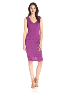VELVET BY GRAHAM & SPENCER Women's Textured Knit Tank Dress