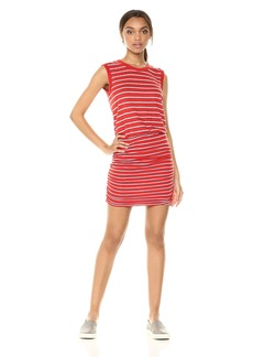 Velvet by Graham & Spencer Women's Tiff Stripe Tank Dress  L