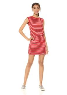 Velvet by Graham & Spencer Women's Tiff Stripe Tank Dress  XL