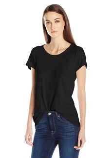 Velvet by Graham & Spencer Women's Tilly Short Sleeve Crew Neck Tee  L
