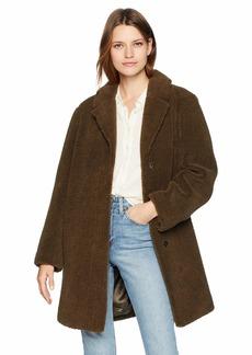 Velvet by Graham & Spencer Women's Trishelle lux Sherpa Coat  L