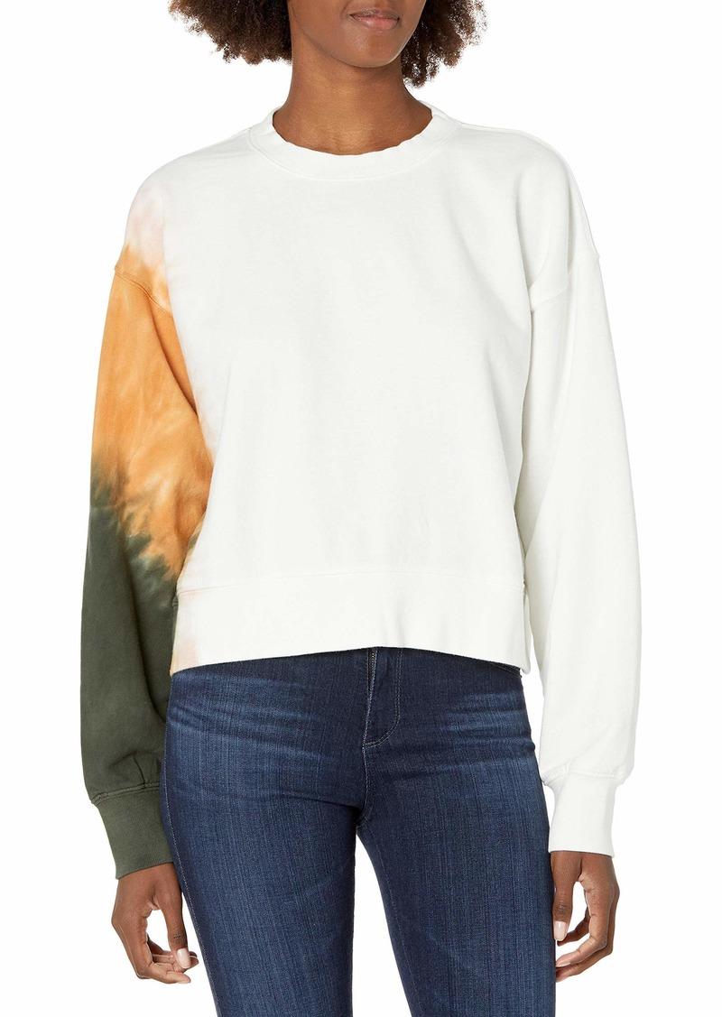 Velvet by Graham & Spencer Women's True Tie Dye Sweatshirt  L