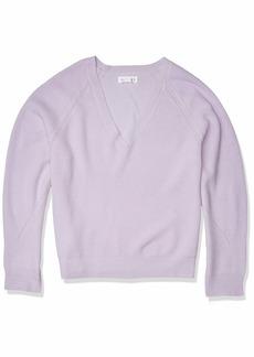 Velvet by Graham & Spencer Women's V-Neck Sweater  M