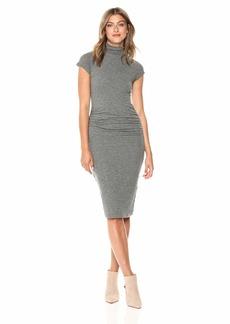 Velvet by Graham & Spencer Women's Valda Gauzy Whisper Novelty Dress  M