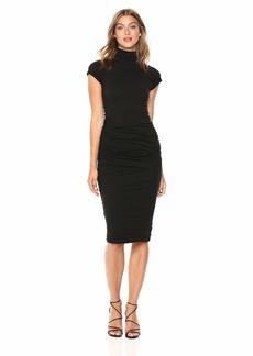 VELVET BY GRAHAM & SPENCER Women's Valda Gauzy Whisper Novelty Dress  XS