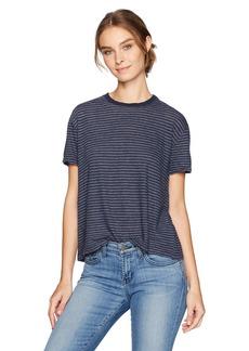 Velvet by Graham & Spencer Women's Vintage Stripe T-Shirt  L