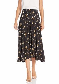 Velvet by Graham & Spencer Women's Willa printec Challis Skirt  L