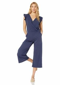 Velvet by Graham & Spencer Women's Wynonna Cotton slub Jumpsuit  XL