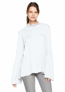Velvet by Graham & Spencer Women's Xena lux slub Shirt  L