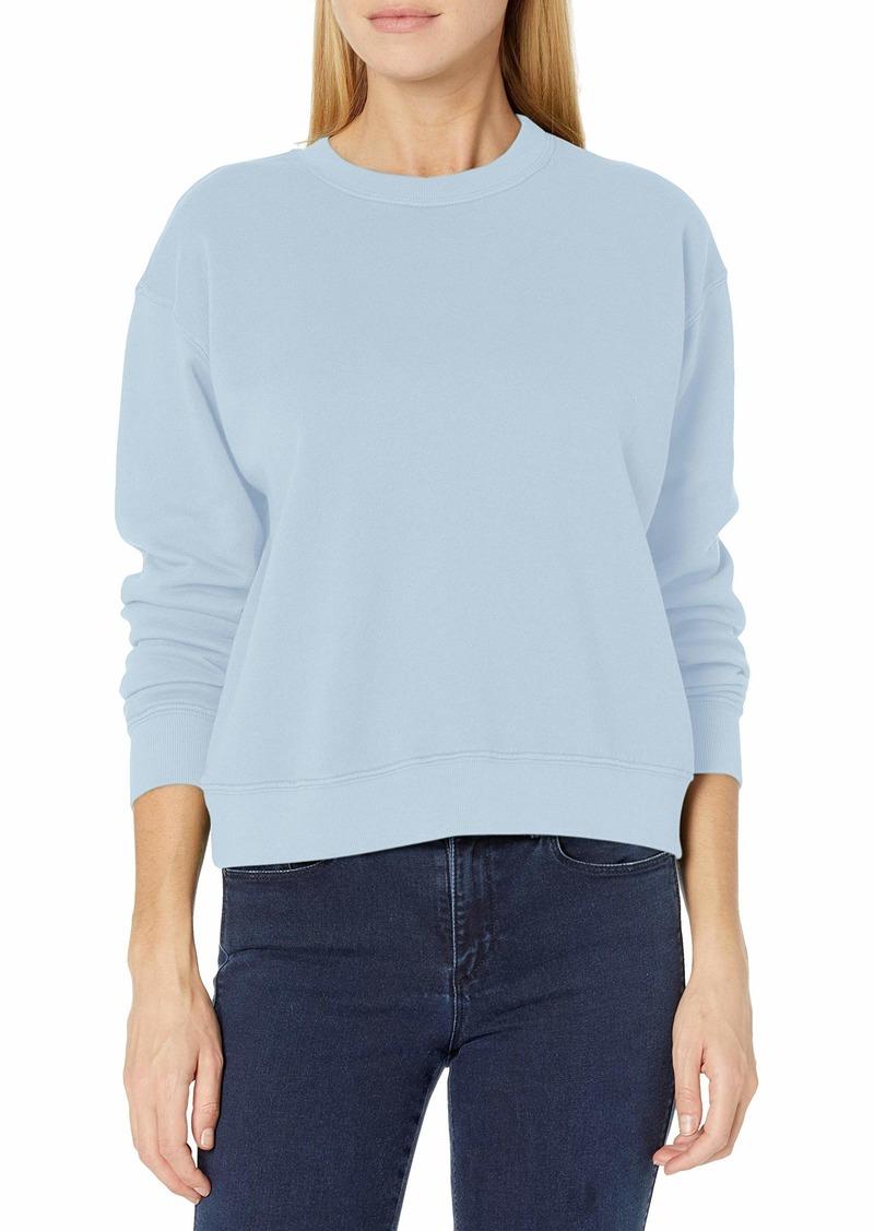 VELVET BY GRAHAM & SPENCER Women's Ynez Organic Fleece Sweatshirt BREEZY S