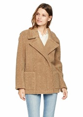 Velvet by Graham & Spencer Women's Yoko lux Sherpa Jacket tan M