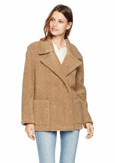Velvet by Graham & Spencer Women's Yoko lux Sherpa Jacket tan M