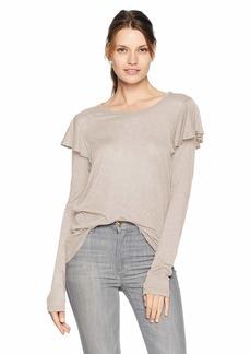 Velvet by Graham & Spencer Women's Yolie Lux Slub Shirt  M