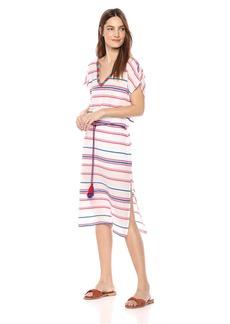 Velvet by Graham & Spencer Women's Zanetta Stripe Kaftan Dress  S