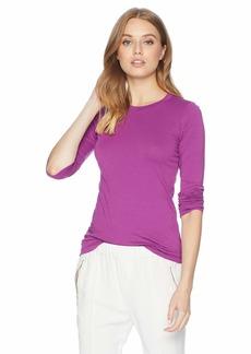Velvet by Graham & Spencer Women's Zofina Gauzy Whisper Classic Shirt balsamic XL