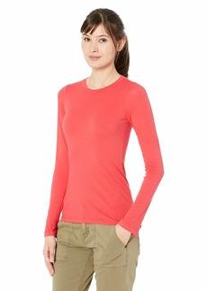 Velvet by Graham & Spencer Women's Zofina Gauzy Whisper Classic t-Shirt red Pepper XS