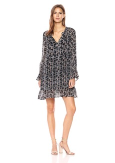 VELVET BY GRAHAM & SPENCER Women's Zurich Printed Dress  XL