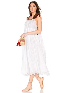 Velvet by Graham & Spencer X Kristy Hume Poppy Dress in White. - size L (also in M,S,XS)