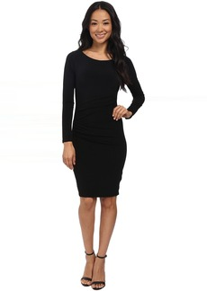 Velvet by Graham & Spencer Yesenia03 Stretch Jersey Long Sleeve Dress