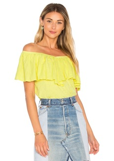 Velvet by Graham & Spencer Zayla Ruffle Top