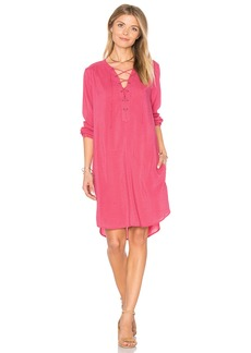 Velvet by Graham & Spencer Zoey Lace Up Dress
