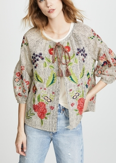 Velvet Delfina Embroidered Jacket