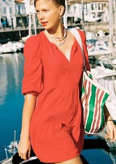 Velvet by Graham & Spencer Velvet Gauze Dress