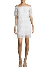 Velvet by Graham & Spencer Velvet Gustina Off-The-Shoulder Lace Dress