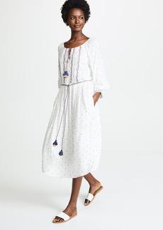 Velvet by Graham & Spencer Velvet Isilda Embroidered Dress