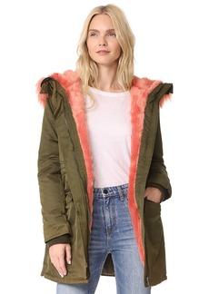Velvet Kanya Faux Fur Coat