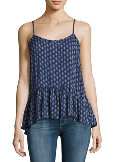 Velvet by Graham & Spencer Velvet Madelyn Printed Tank Top