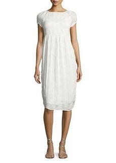 Velvet by Graham & Spencer Velvet Marcella Embroidered Dress