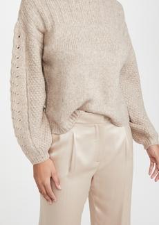 Velvet by Graham & Spencer Velvet Maree Crew Neck Alpaca Sweater