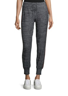 Velvet by Graham & Spencer Velvet Marled Jersey Jogger Pants