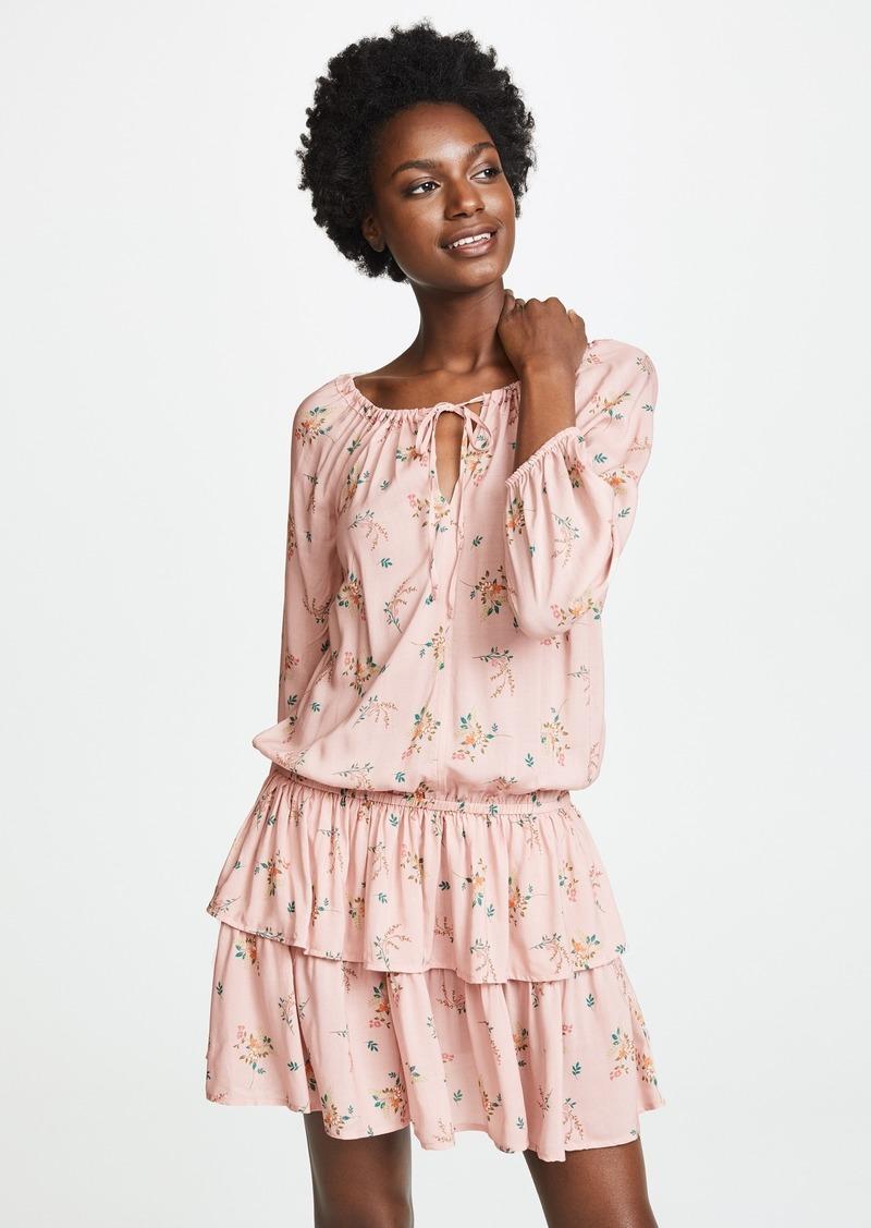 2556965fb73f1 Velvet by Graham   Spencer Velvet Nance Long Sleeve Mini Dress