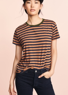 Velvet by Graham & Spencer Velvet Peace Stripe Tee