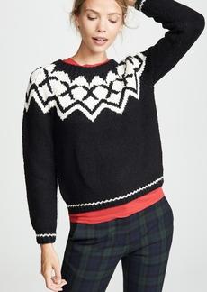 Velvet by Graham & Spencer Velvet Robyn Fair Isle Sweater