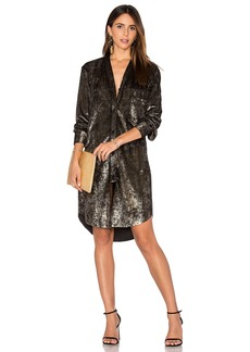 Velvet by Graham & Spencer Velvet Shirt Dress