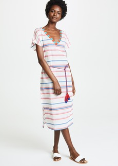 Velvet by Graham & Spencer Velvet Stripe Caftan Dress