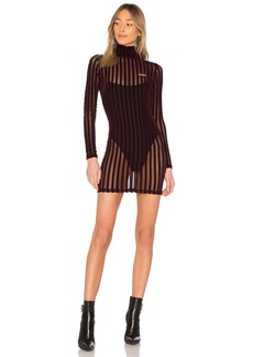 Velvet Stripe Dress